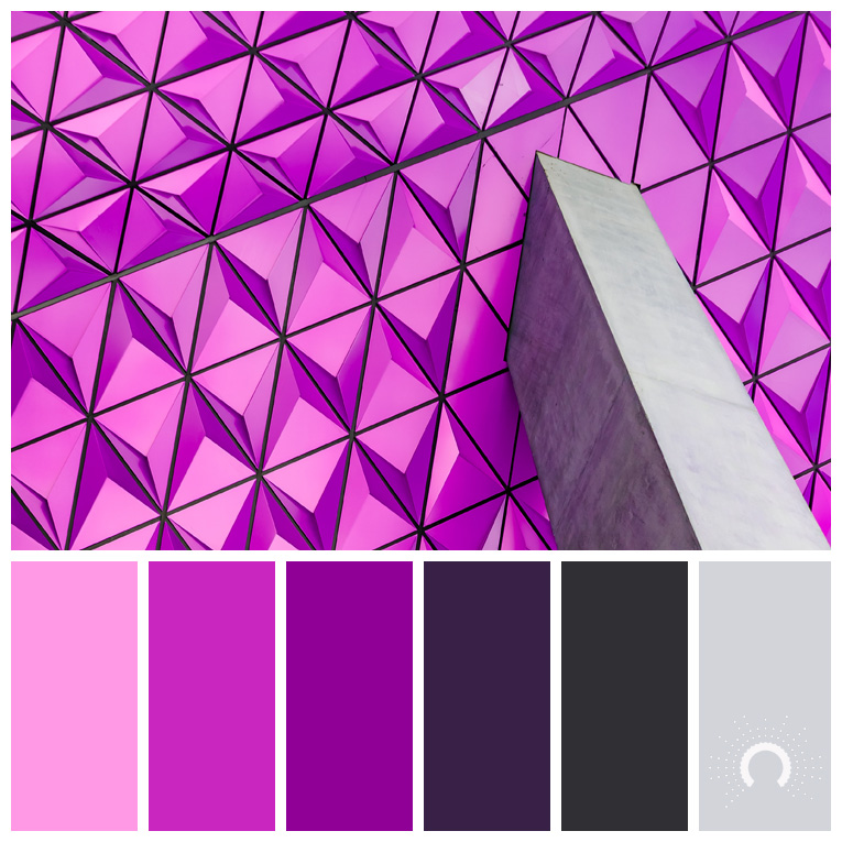 color palette, color combination, Farbpalette, hue, red-violet, violet, gray, rotviolet, violet, grau
