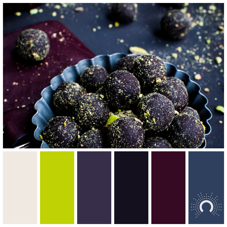 color palette, color combination, Farbpalette, hue, beige, green, violet, red-violet, blue, rotviolet, grün, blau, lila, purple