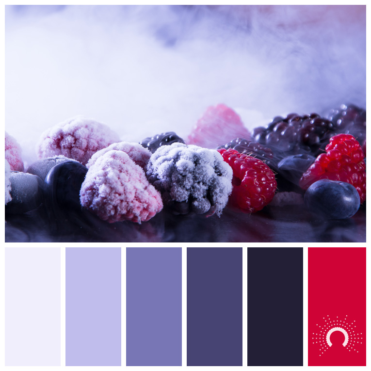 color palette, color combination, color combo, Farbpalette, hue, blue-violet, purple, red, rot, lila, blauviolet