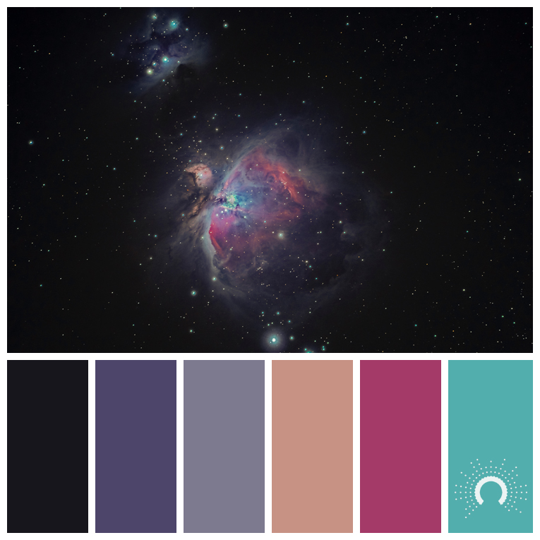 color palette, color combination, color combo, Farbpalette, hue, blue-violet, red-orange, red, blue-green, pink, rosa, blaugrün, rotorange, violet, lila, schwarz, black, adamma stekovics