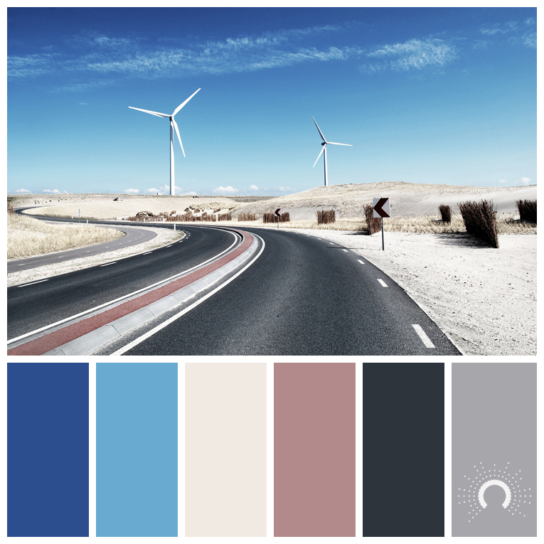 color palette, color combination, color combo, Farbpalette, hue, blue, beige, red, grey, grau, rot, sand, grau