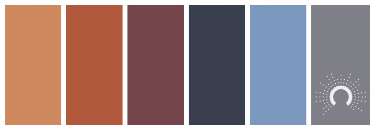 color palette, hues, color inspiration, astelles colorpalette