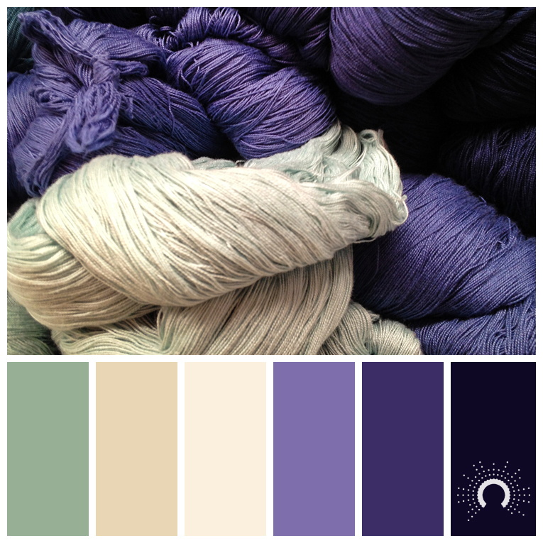 color palette, color combination, Farbpalette, hue, violet, purple, green, beige, sand, lila, grün