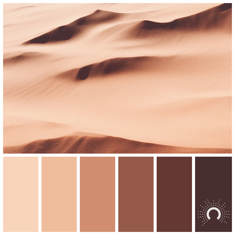 color palette, color combination, Farbpalette, dune, Düne, Sand