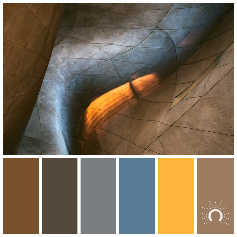 color palette, color combination, Farbpalette, Architektur, architecture, texture