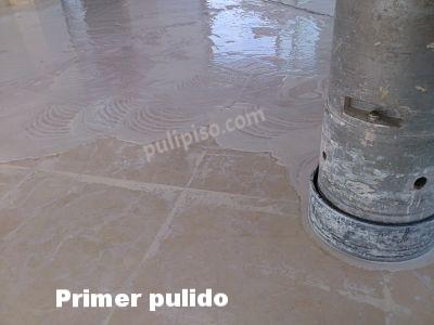 Desbastado de suelo mármol