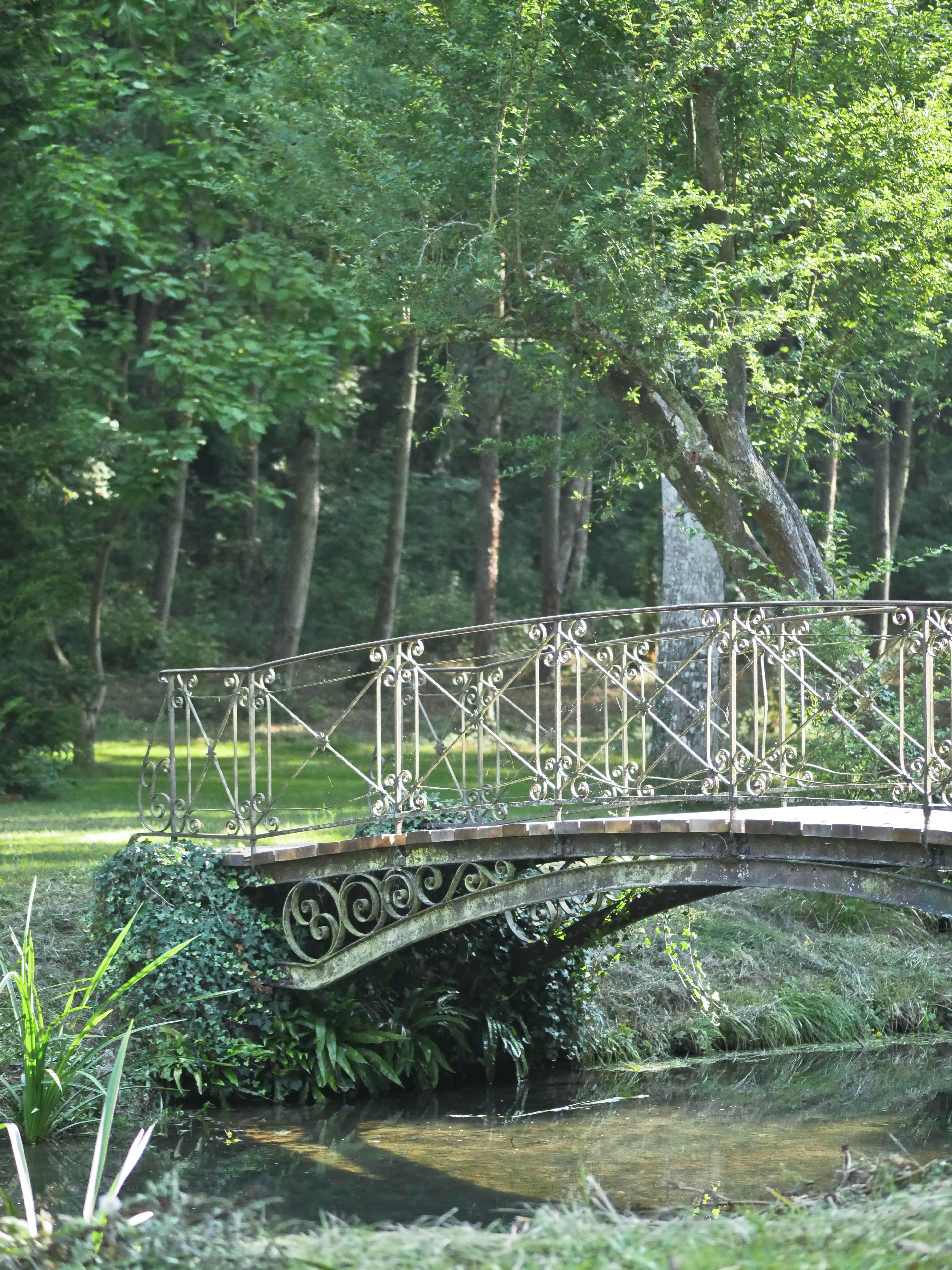 Parc du château de Courtanvaux