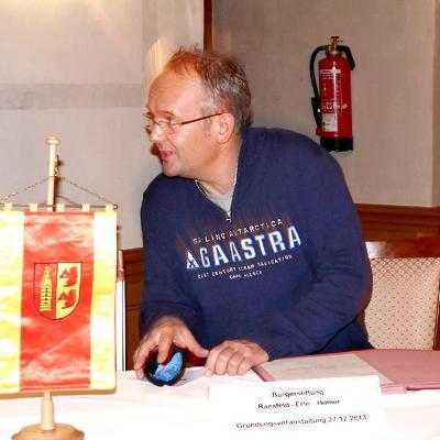 Stefan Spangemacher bei der Bürgerstifung REH