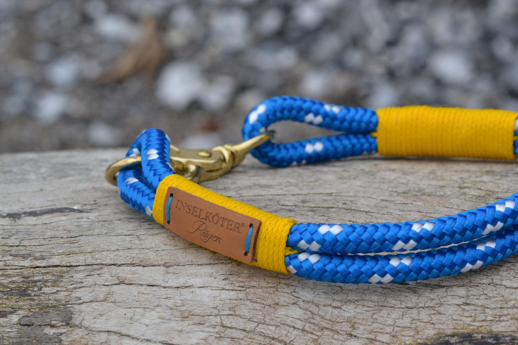 Halsband aus Regatta Tauwerk. Kreidefelsen Ruegen