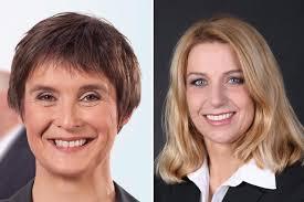 Magdalena Ferndriger und Denise Stadtmann liegen im Börsenspiel 2017 bei Halbzeit in Front.