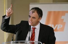 CVP-Präsident Christophe Darbelley.