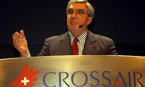 Auch Crossair-Gründer Moritz Suter machte in Bern seine Erfahrungen.