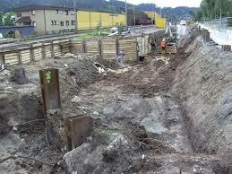 Was, wenn die Baugrube einstürzt?
