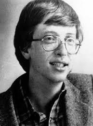 Bill Gates in früheren Jahren