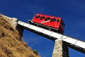 Die Niesenbahn führt zwei Aktientypen: Die eine stieg steil an, die andere fiel steil ab. Fast wie die Bahn selber.