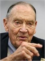 John C. Bogle, berühmtester Verfechter von Index-Fonds.