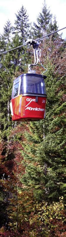Die Gondelbahn Grindelwald–Männlichen fährt in eine ungewisse Zukunft. Und ihre Aktien verzeichnen nur geringe Umsätze.