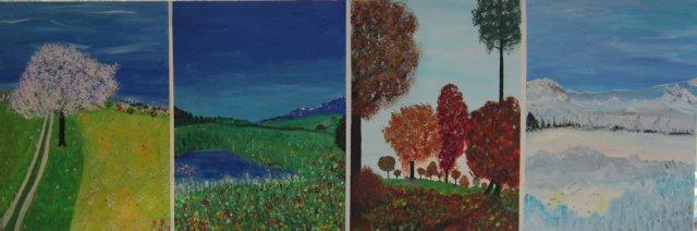 Bild Nr. 170, Format 150/50, 4-Jahreszeiten, Preis Fr. 1'300.00