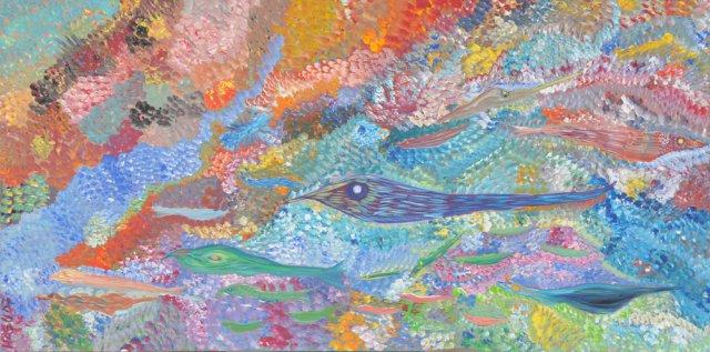 Bild Nr. 97, Format 100/50, Modern Fish, Preis Fr. 590.00