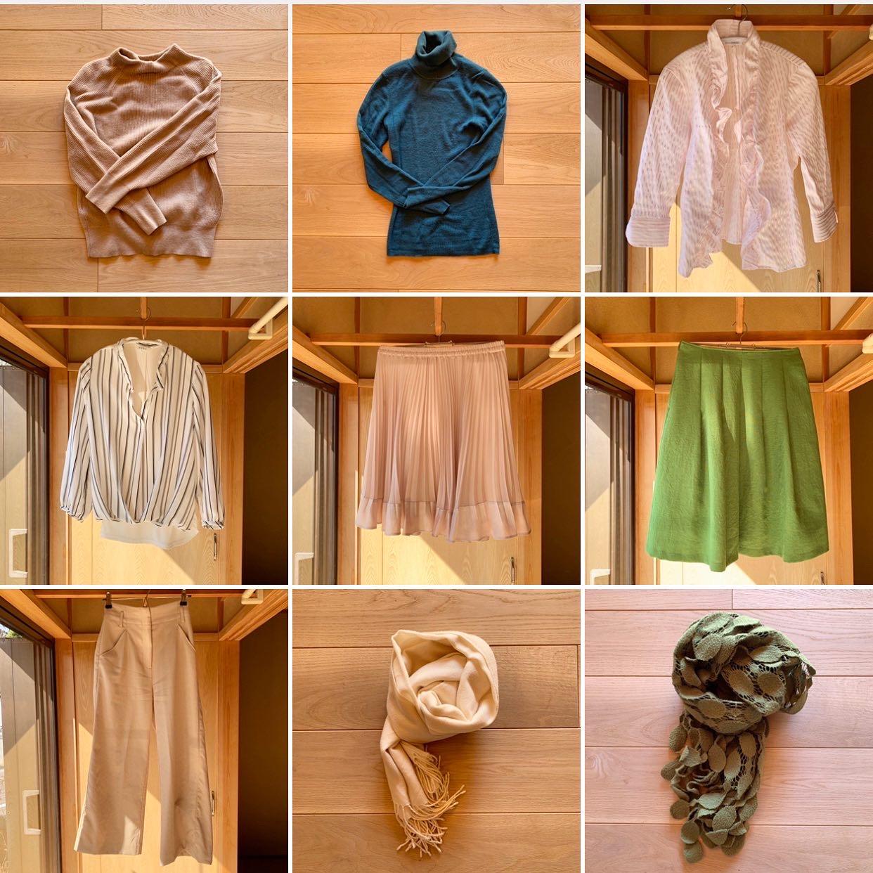 洋服の棚卸し