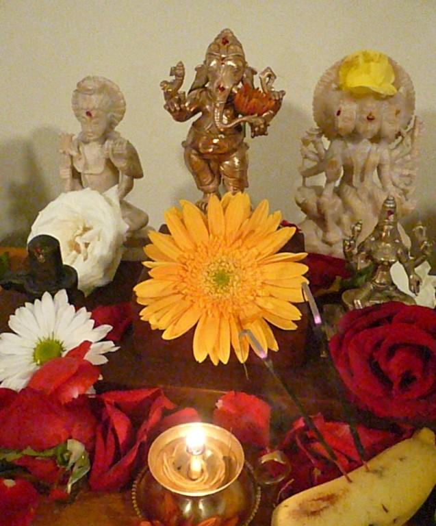 De volta para o altar - próspero e cheio de flores