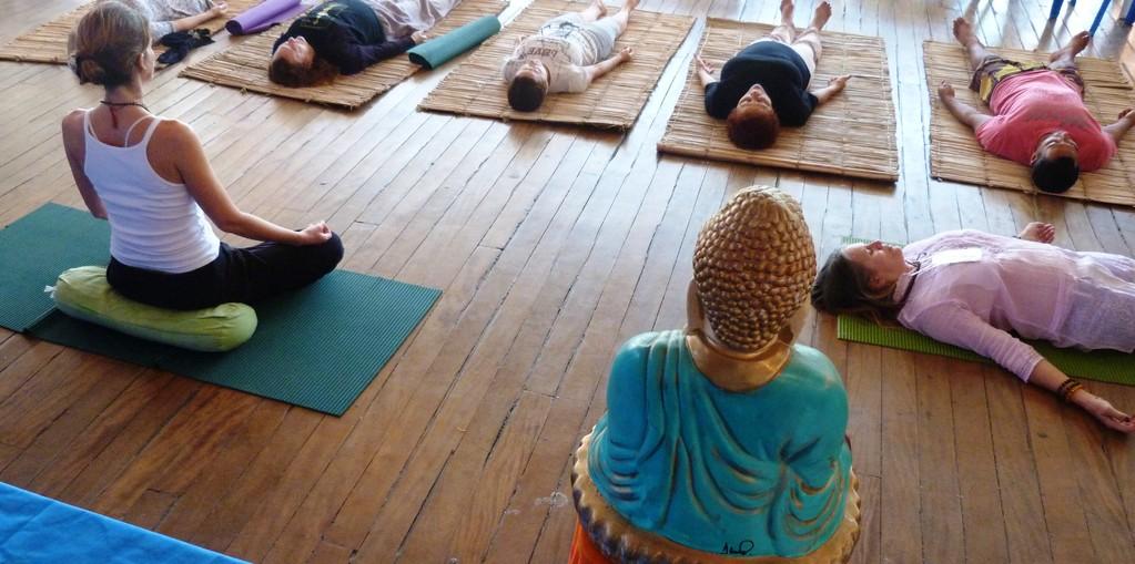Terminando por uma meditação guiada