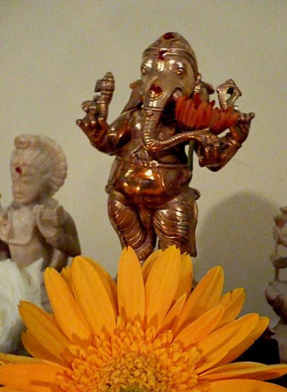 Ganesha limpo dos obstáculos