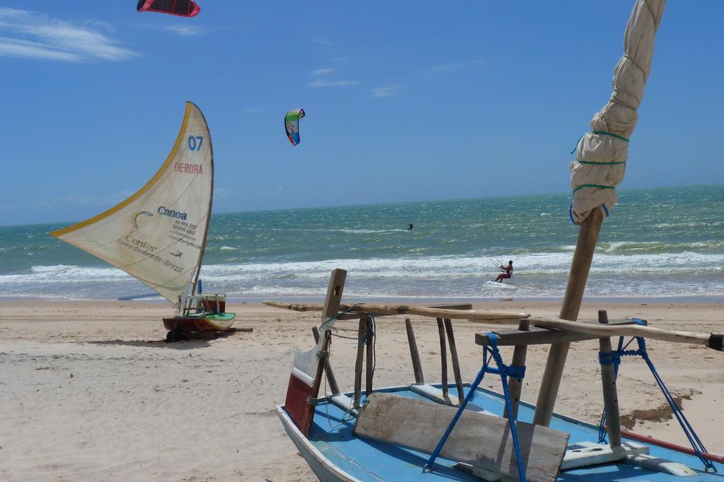 A presença forte dos 4 elementos - Areia Sol Vento Mar