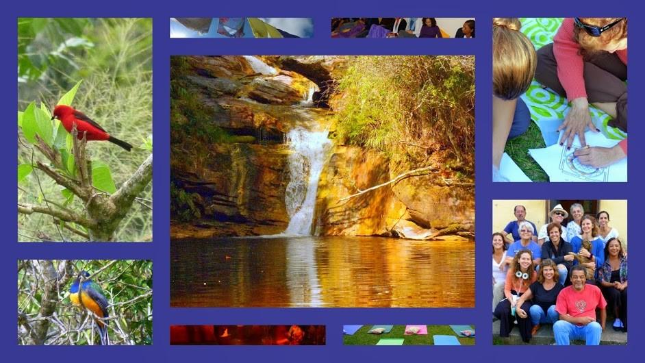 Banho de natureza e tranquilidade