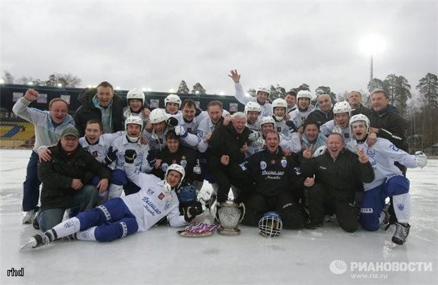 Сезон 2012/2013 (обладатель Кубка России)