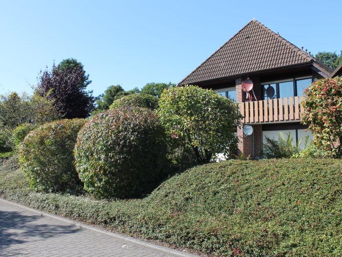Blick auf das Haus von der Humenserstraße