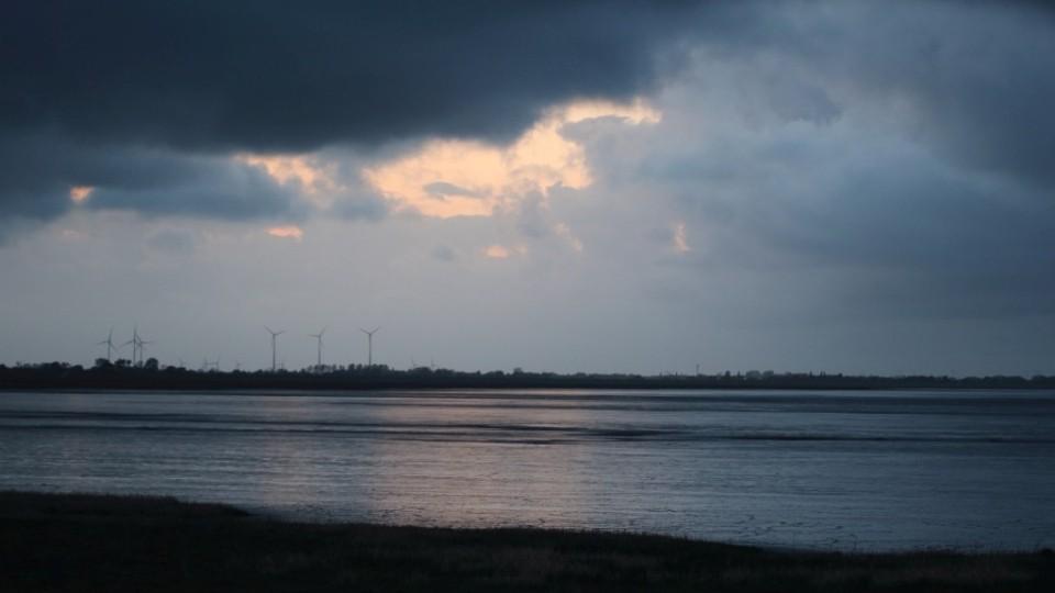 Abendstimmung am Dangaster Hafen