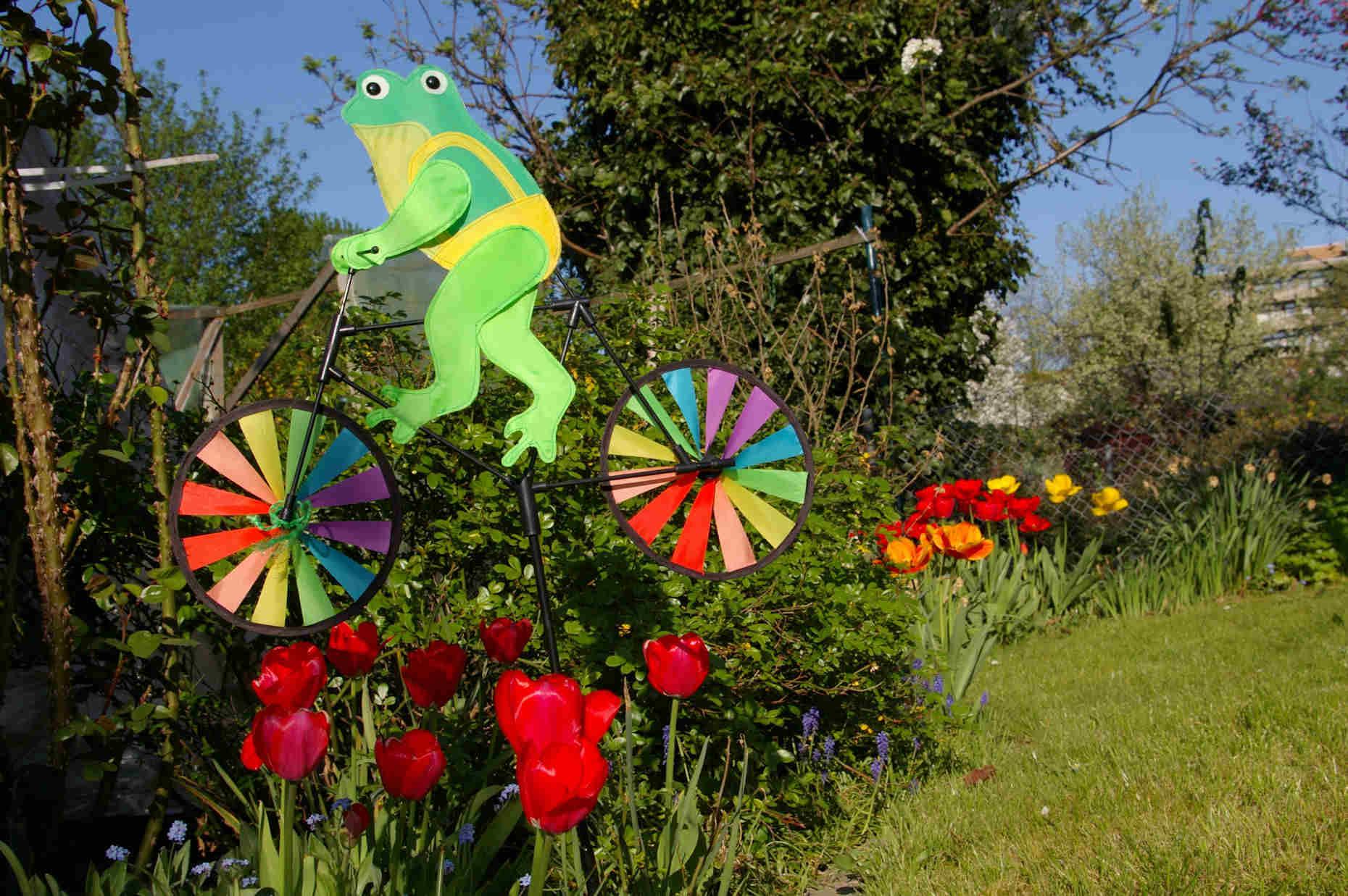Windspiel im Garten