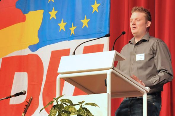 Karsten Holderberg, stv. Parteivorsitzender des CDU Stadtverbandes Neukirchen-Vluyn