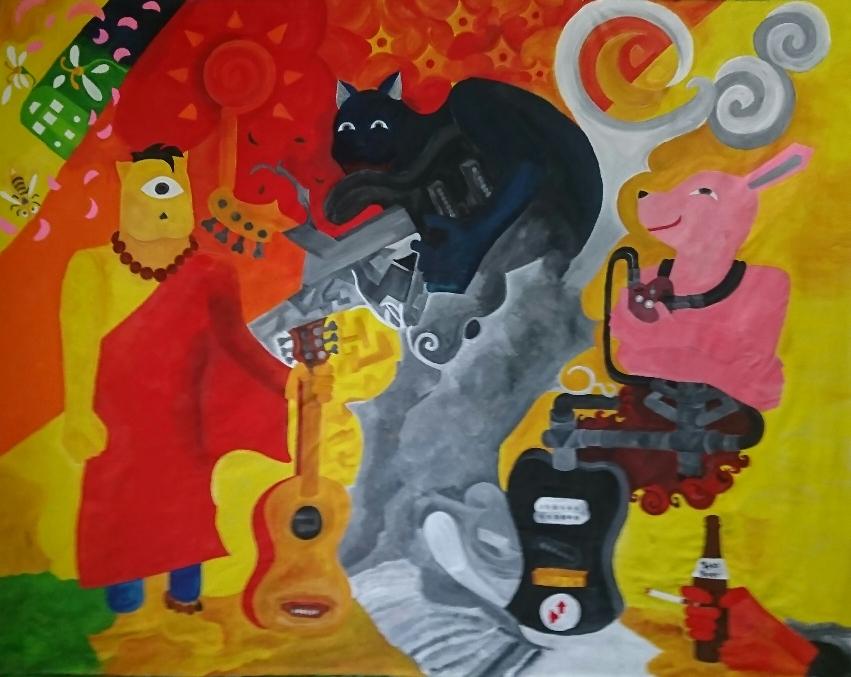 『野良犬太郎&the香福園』