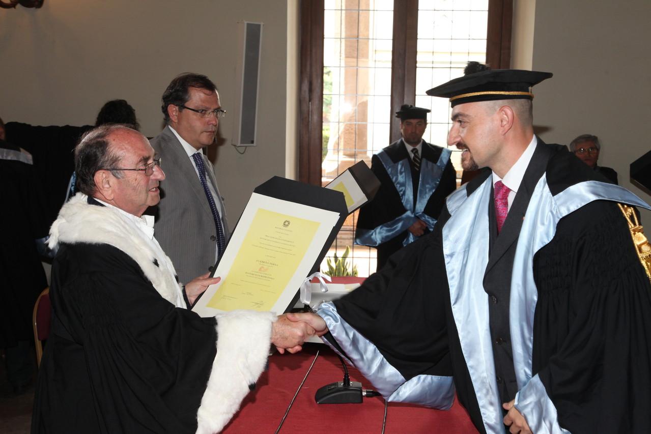 Consegna laurea Giurisprudenza