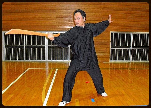 伝統太極拳の太極刀