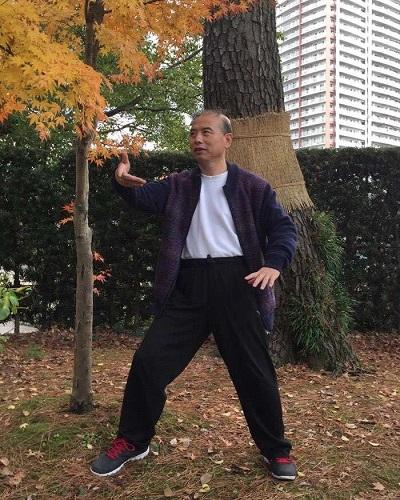 鄭志鴻老師の古典式太極拳