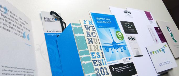 Geschäftspapiere Flyer Karten Visitenkarten Broschüren Print Com Erlangen Tennenlohe