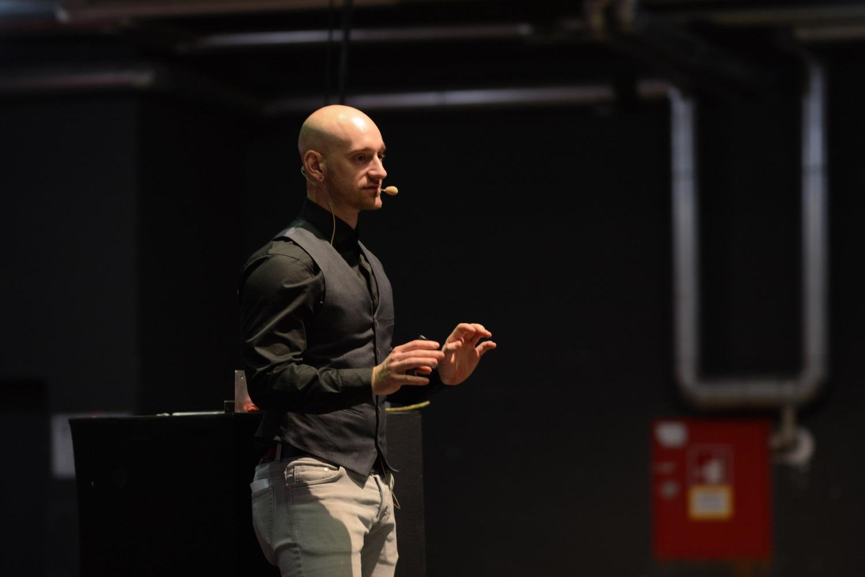 Venture Manager Joe Natoli auf dem 2b AHEAD Draper Bootcamp