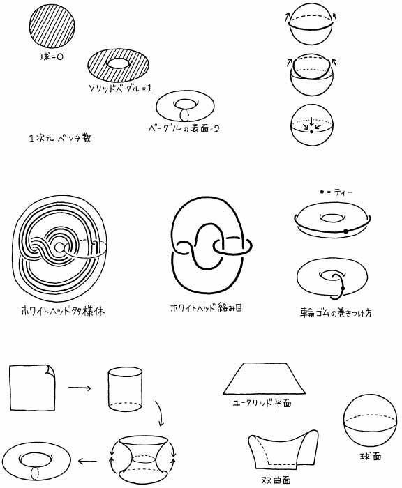 『ポアンカレ予想』(早川書房)挿絵 2007年
