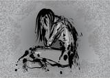 Drepressionen und Trauer