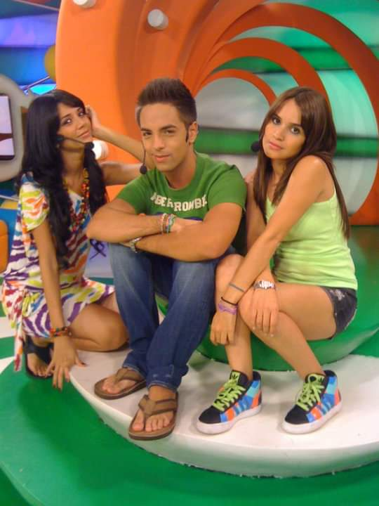 Junto a Anabel Angus y Oriana Arredondo en Chicostation