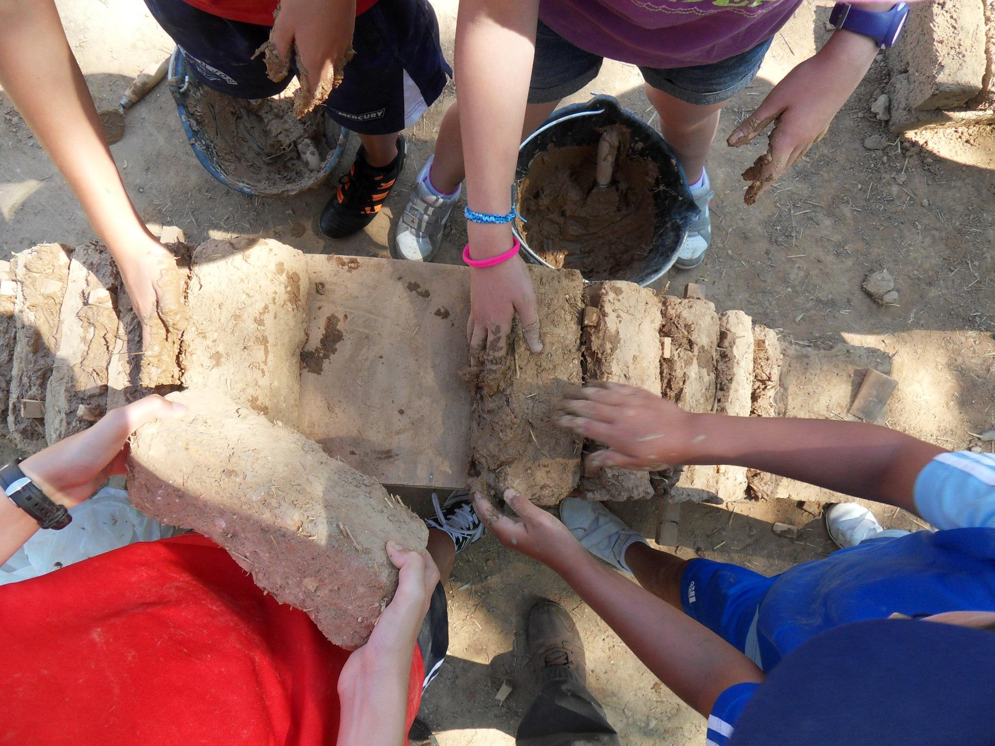 Taller de arquitectura romana: construcción de arcos