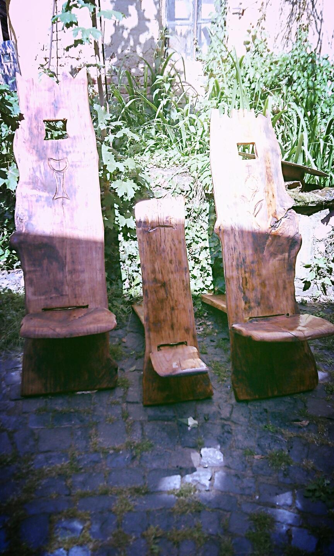 Steck Stühle aus Ocstädteter Kirsche