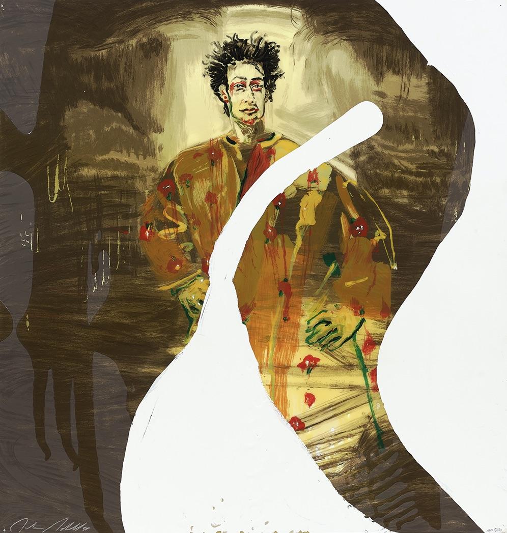 Nemo Librizzi, 1998, Siebdruck aus 23 Farben mit Kunstharz übergossen, 91.4 x 96.5 cm, Auflage: 90 + 10 AP, signiert und nummeriert