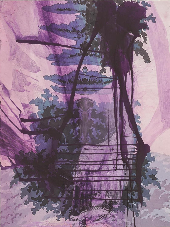 Walt Whitman III (Waterfall), 2016, Technik: Pigmentdruck auf Kupferdruckpapier, 97.8 x 129.8 cm, Auflage: 25 + AP, signiert, arabisch nummeriert