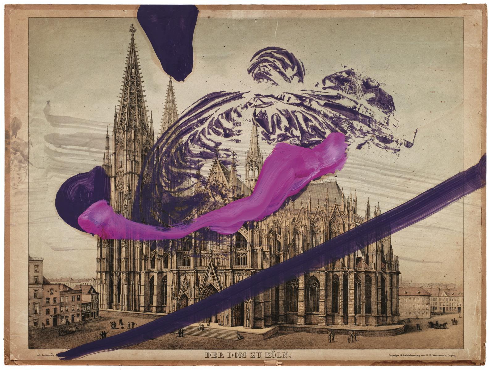 Untitled (Dom zu Köln), 2016 Pigmentdruck auf Faserpapier, kaschiert auf Karton 106.5 x 80 cm Auflage: 60 + AP, signiert, arabisch nummeriert