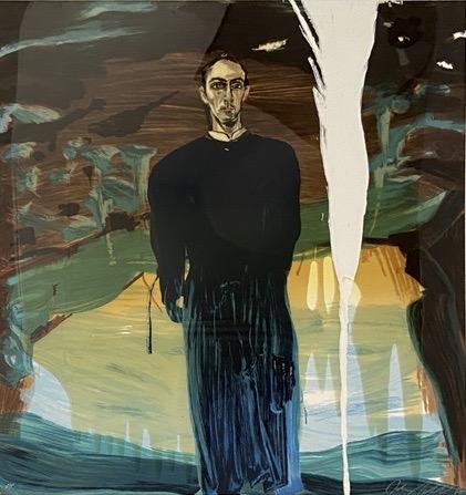 Jose Luis Ferrer, 1998, Siebdruck aus 25 Farben mit Kunstharz übergossen, 91.4 x 96.5 cm, Auflage: 90 + 10 AP, signiert und nummeriert