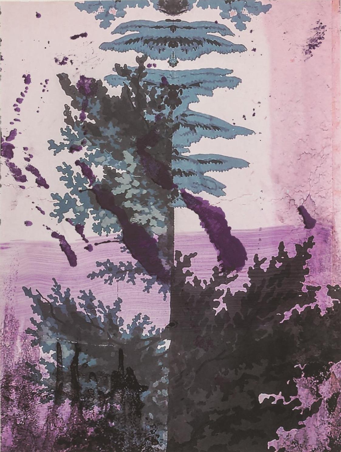 Titel: Walt Whitman II (Lake), 2016, Pigmentdruck auf Kupferdruckpapier, 129.8 x 97.8 cm, Auflage: 25 + AP, signiert, arabisch nummeriert